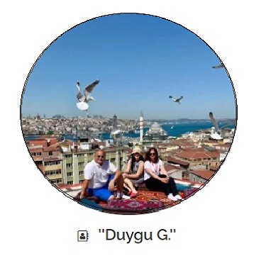 Tour Guide in istanbul city duygu