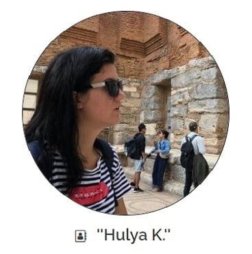 hulya istanbul female guide