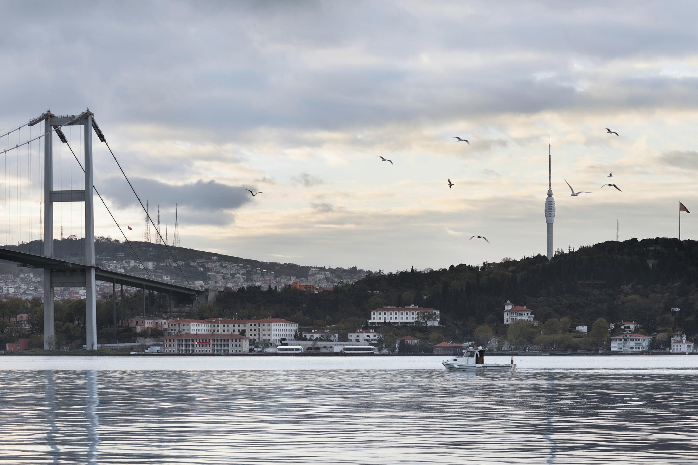 istanbul tower bosphorus view