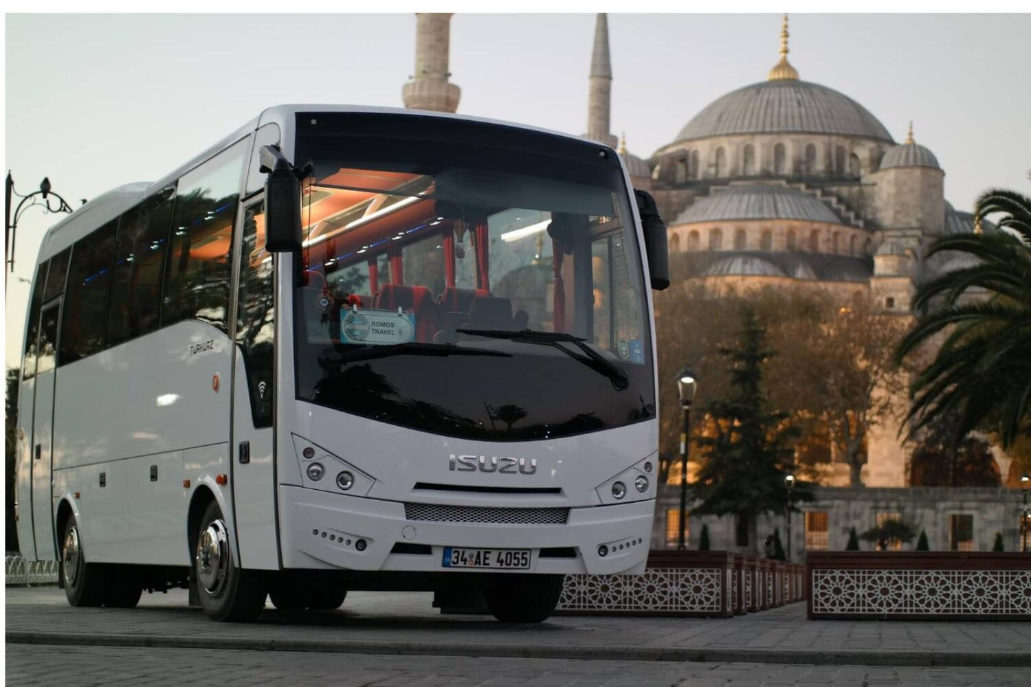bus for istanbul tour