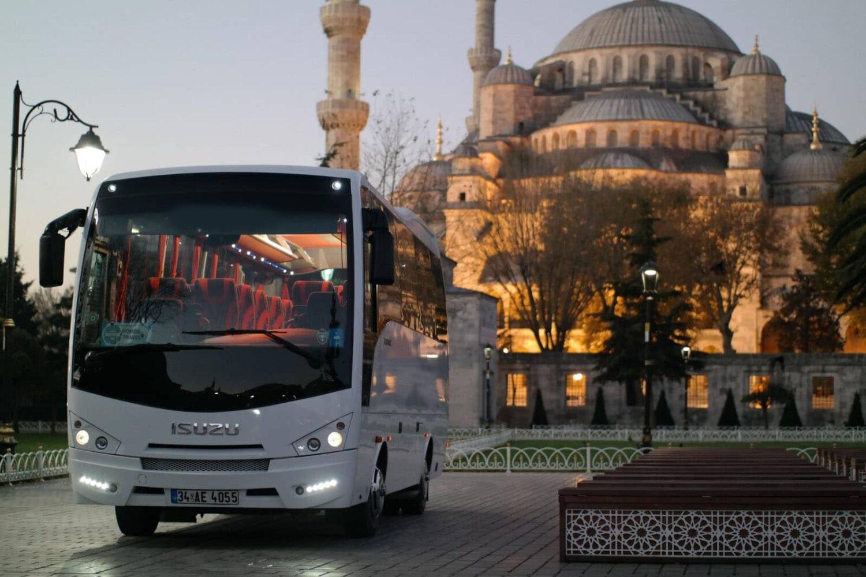istanbul group tour car